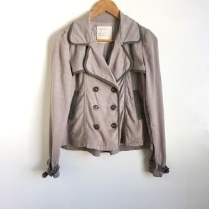Free People double breasted jacket